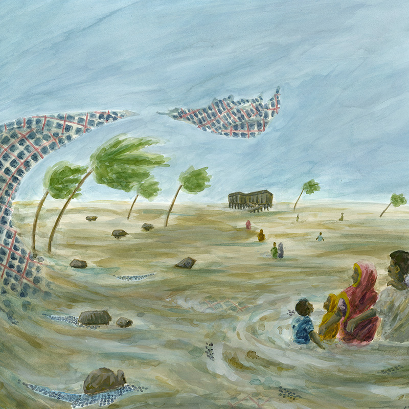 Bangladesh And East India Bear The Brunt Of Cyclone Amphan In The Midst Of COVID-19