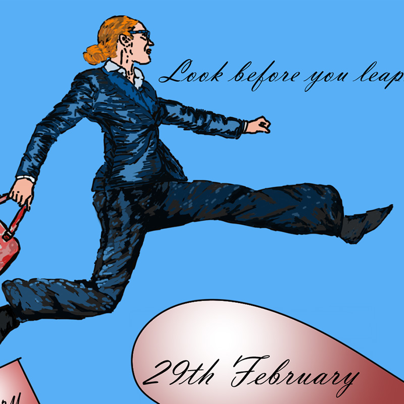 Look Before You Leap – And What Have Silk Gloves Got To Do With Leap Years?
