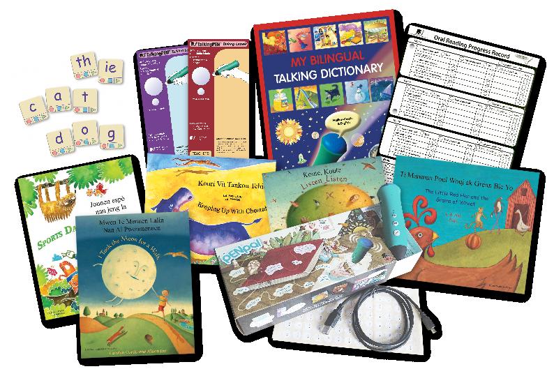 Set of 5 Mantra Lingua Bilingual Books Arabic