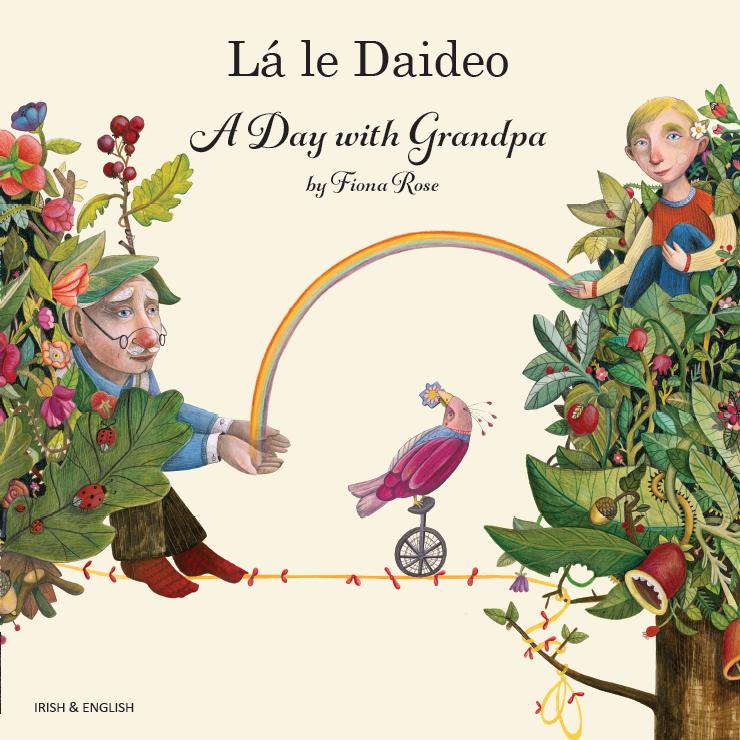 A Day with Grandpa Irish and English
