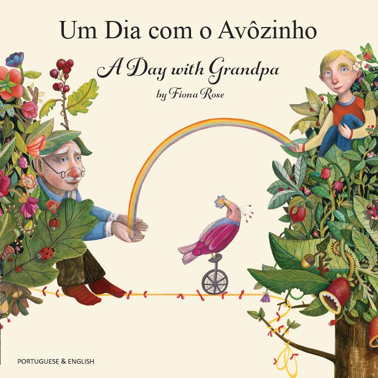 A Day with Grandpa Portuguese and English