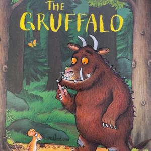The Gruffalo story telling cards